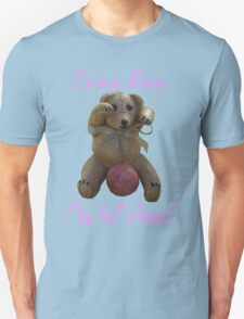 Emma Bear Play Ball Please. T-Shirt
