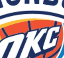 Oklahoma City Thunder Sticker