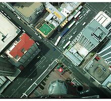 From Sky Tower - Auckland NZ by kelliejane