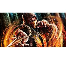 Scorpion Mortal Kombat Photographic Print