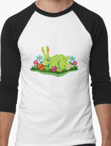 Easter  rabbit Men's Baseball ¾ T-Shirt