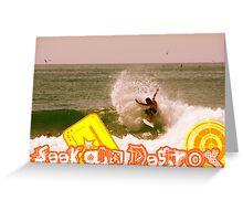 Seek And Destroy Greeting Card