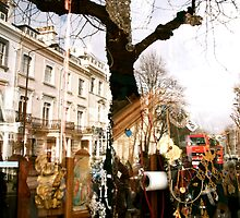 London Portobello Market by Louise Fahy