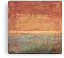 Another Time - abstract oil painting on canvas Canvas Print
