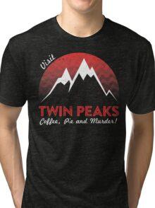 Visit Twin Peaks Tri-blend T-Shirt