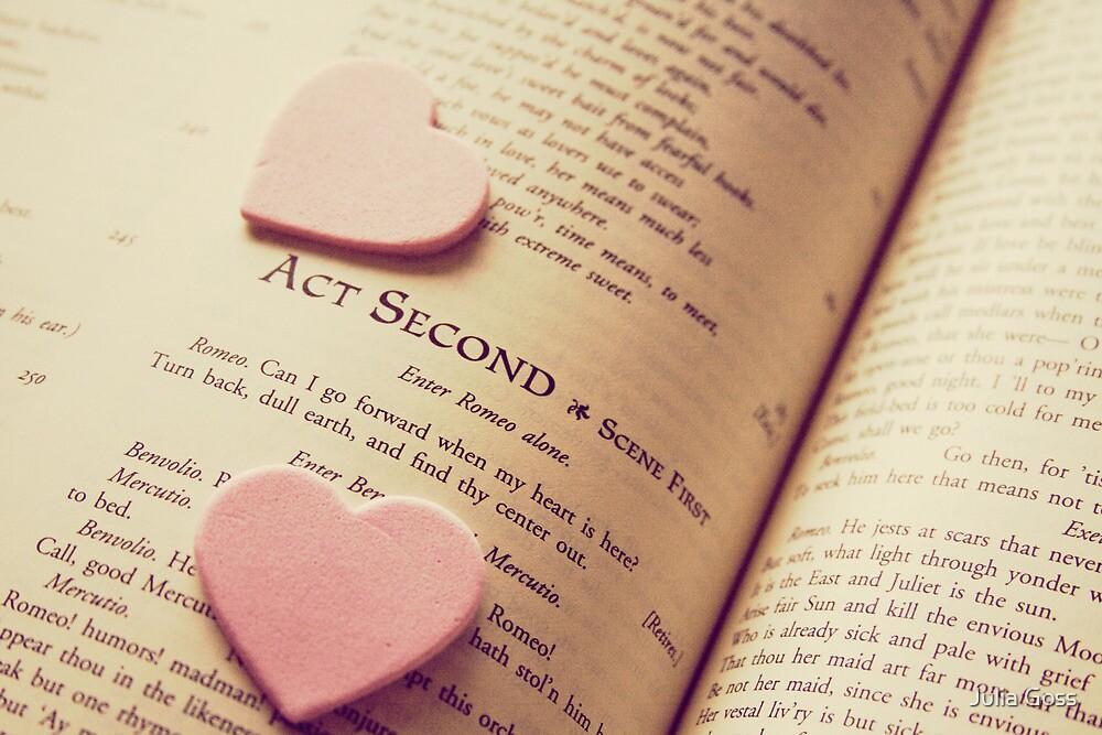 Shakespeare Love by Julia Goss