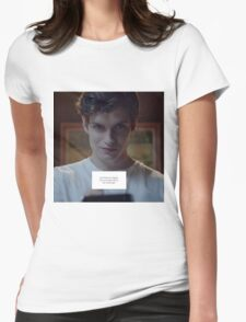 Isaac Lahey - Motel California Womens Fitted T-Shirt