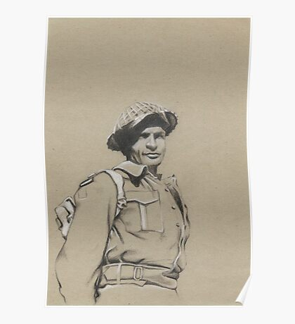 Charles Upham VC and Bar Poster