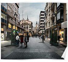 Calle Santiago Poster