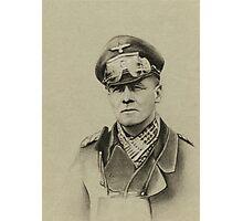Erwin Rommel (Desert Fox) Photographic Print