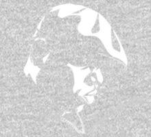 Eazy E Black And White Stencil One Piece - Long Sleeve