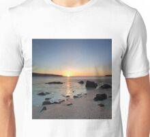 Coral Beach at Sunset Unisex T-Shirt