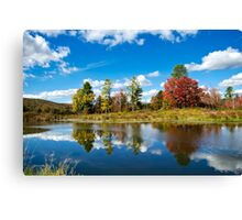 New York Fall Landscape Canvas Print