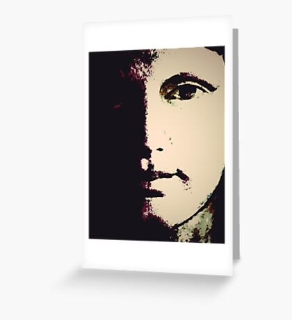 Face 2 Greeting Card