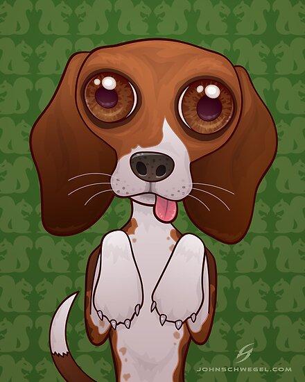 Brenya The Beagle by fizzgig