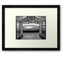 Missed it! Framed Print