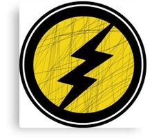 Lightning Bolt - Ray Canvas Print