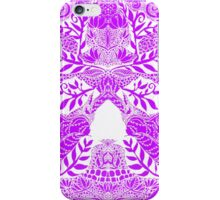 Mauve Skull iPhone Case/Skin