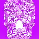 Mauve Skull by cathyjacobs