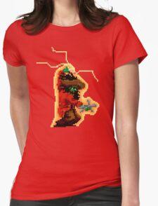 LeChuck - 8 bit Womens Fitted T-Shirt