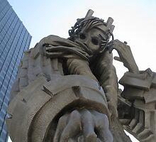King Lear sculpture by baileys