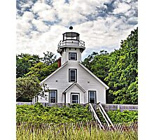 Old Mission Point Lighthouse Photographic Print