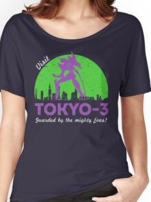 Visit Tokyo-3 Women's Relaxed Fit T-Shirt