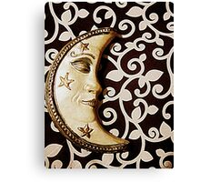 Moon pearl Canvas Print