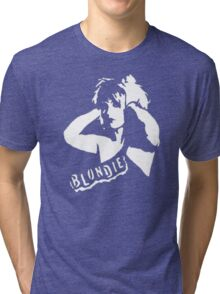 stencil Blondie Tri-blend T-Shirt