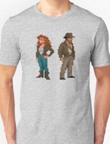 Indiana Jones - pixel art Unisex T-Shirt