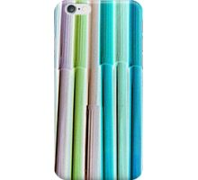 colored markers iPhone Case/Skin