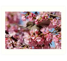 Springtime Makes Me Want to Spread My Wings Art Print