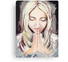 A Prayer... Canvas Print