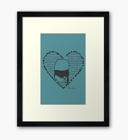 Save Shenmue With All Our Hearts! Framed Print