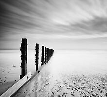 Calm sea, racing sky. Bognor Regis. by postmansmith