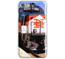 Pulling Into New London iPhone Case/Skin