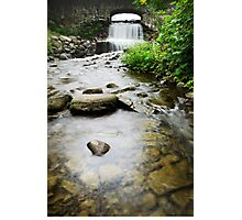 Small Waterfall Landscape Photographic Print