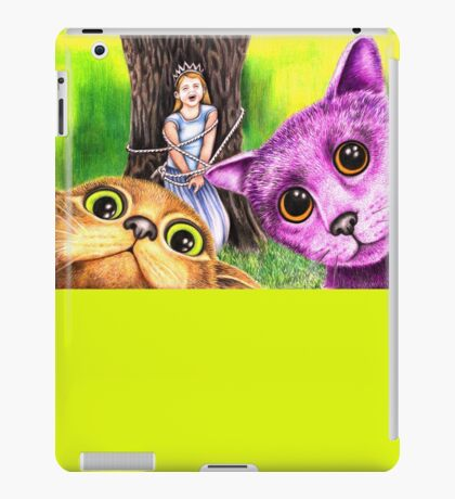 """""""Pay the ransom, or the Princess gets it!"""" 344 views as at 5th Nov 2011 iPad Case/Skin"""