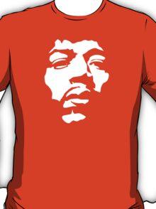 Stencil Jimi Hendrix Silhouette T-Shirt