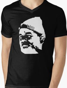 Stencil Life Aquatic Mens V-Neck T-Shirt