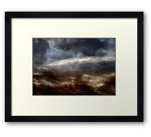 Flight of these Days Framed Print