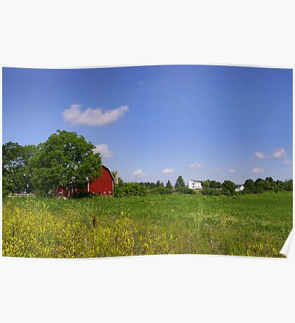 Barn And Farm Poster