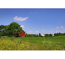 Barn And Farm Photographic Print