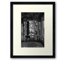 Quiet Corner Framed Print