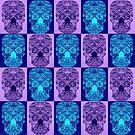 Purple Skull Fantasy by cathyjacobs