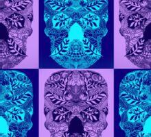 Purple Skull Fantasy Sticker