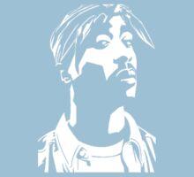 Stencil Tupac Kids Clothes