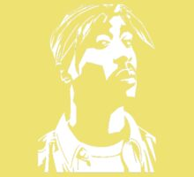 Stencil Tupac Kids Clothes