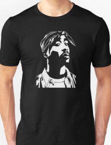 Stencil Tupac T-Shirt