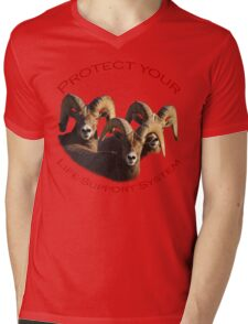 Protect Your Life-Support System Mens V-Neck T-Shirt
